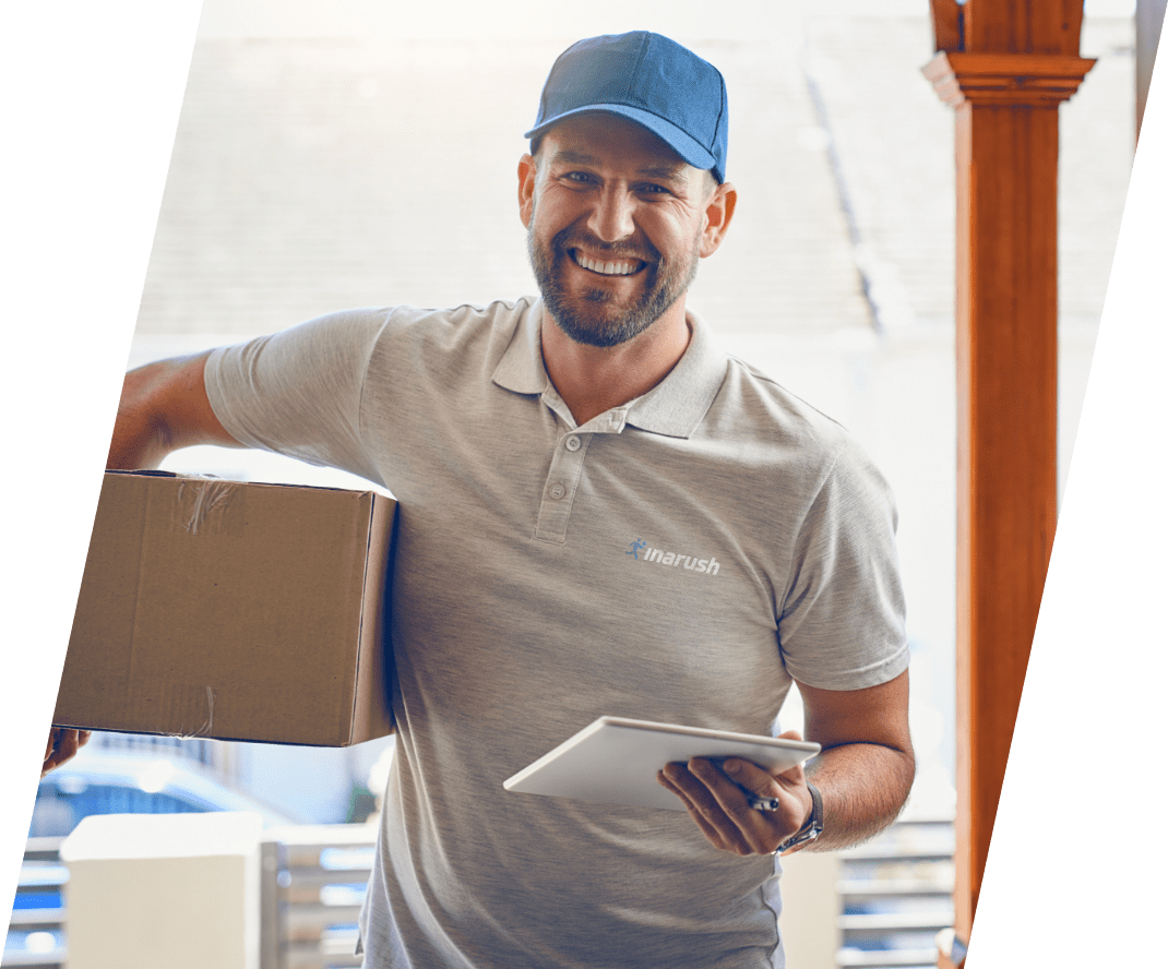 InaRush - New Zealands smartest new courier